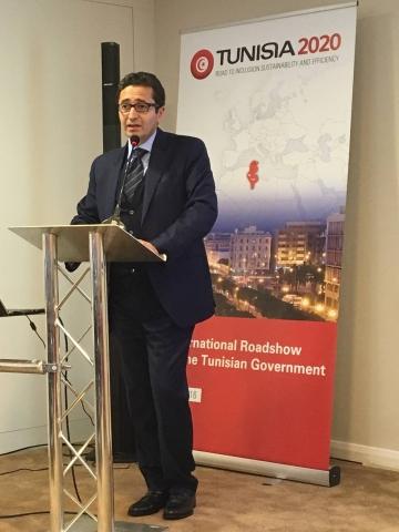 Participation de la chambre de commerce tuniso britannique for Chambre de commerce tunisie